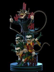 【予約商品】【クアンタムメカニクス QMx】 Qフィグ マックス エリート/ DCコミックス: バットマン フーラフス with ロビンズ PVCフィギュア
