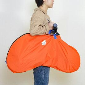 ストライダー用キャリーバッグ【オレンジ×パープル】軽量で強度に優れ汚れにくい【ペダル無し自転車】【キックバイク】FREDRIK PACKERS