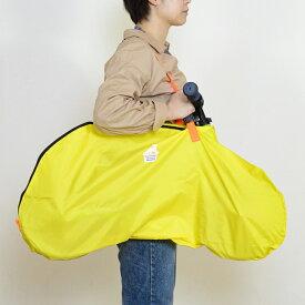 12インチストライダー用キャリーバッグ【イエロー×ネオンオレンジ】軽量で強度に優れ汚れにくい【ペダル無し自転車】【キックバイク】FREDRIK PACKERS