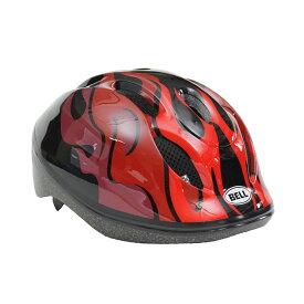 BELL(ベル) ヘルメット【ZOOM2(ズーム2) :XSサイズ/Sサイズ(48〜54cm) /ブラックレッドフレイムス】 ストライダー 自転車 子供用 キッズ 7072822