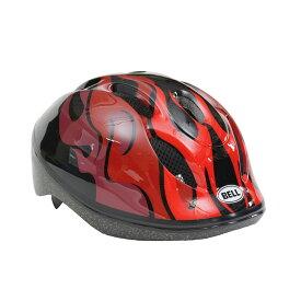 BELL(ベル) ヘルメット【ZOOM2(ズーム2) :Mサイズ/Lサイズ(52〜56cm) /ブラックレッドフレイムス】 ストライダー 自転車 子供用 キッズ 7072823