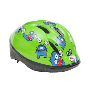BELL(ベル) ヘルメット【ZOOM2(ズーム2) :XSサイズ/Sサイズ(48〜54cm) /グリーンファートモンスター】 ストライダー 自転車 子供用 キッズ 7072826