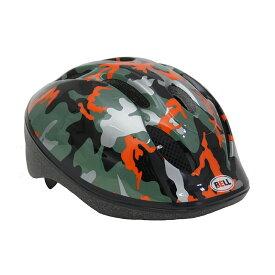 BELL(ベル) ヘルメット【ZOOM2(ズーム2) :XSサイズ/Sサイズ(48〜54cm) /オレンジカモ】 ストライダー 自転車 子供用 キッズ 7072828