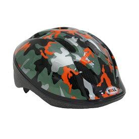 BELL(ベル) ヘルメット【ZOOM2(ズーム2) :Mサイズ/Lサイズ(52〜56cm) /オレンジカモ】 ストライダー 自転車 子供用 キッズ 7072829