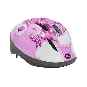 BELL(ベル) ヘルメット【ZOOM2(ズーム2) :XSサイズ/Sサイズ(48〜54cm) /ピンクレインボーアニマル】 ストライダー 自転車 子供用 キッズ 7072830