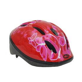 BELL(ベル) ヘルメット【ZOOM2(ズーム2) :XSサイズ/Sサイズ(48〜54cm) /レッドバタフライ】 ストライダー 自転車 子供用 キッズ 7072836