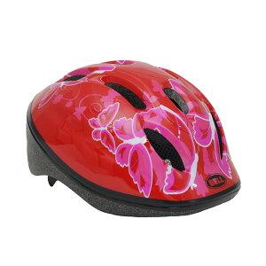 BELL(ベル) ヘルメット【ZOOM2(ズーム2) :Mサイズ/Lサイズ(52〜56cm) /レッドバタフライ】 ストライダー 自転車 子供用 キッズ 7072837