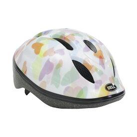 BELL(ベル) ヘルメット【ZOOM2(ズーム2) :XSサイズ/Sサイズ(48〜54cm) /ホワイトハーツ】 ストライダー 自転車 子供用 キッズ 7072840