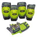 BELL プロテクターセット グローブ&パッド 3点セット ラスカルズ /アシッドイエローストライダー プロテクター キッズ ランニングバイク 8051050