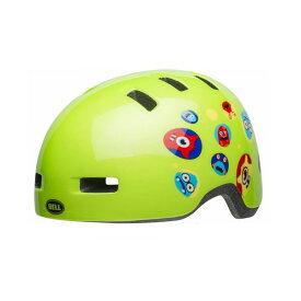 BELL(ベル) ヘルメット【LIL RIPPER(リルリッパー):UCサイズ(47〜54cm) /グリーンモンスターズ】 ストライダー 自転車 子供用 キッズ