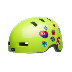 BELL(ベル) ヘルメット【LIL RIPPER(リルリッパー):Tサイズ(45-51cm)/グリーンモンスターズ】 ストライダー 自転車 子供用 キッズ