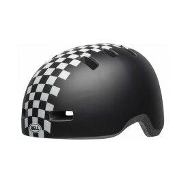 BELL(ベル) ヘルメット【LIL RIPPER(リルリッパー):UCサイズ(47〜54cm) /マットブラック/ホワイトチェッカーズ】 ストライダー 自転車 子供用 キッズ