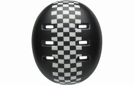 BELL(ベル)ヘルメット【LILRIPPER(リルリッパー):UCサイズ(47〜54cm)/マットブラック/ホワイトチェッカーズ】ストライダー自転車子供用キッズ