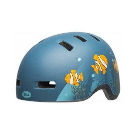 BELL(ベル) ヘルメット【LIL RIPPER(リルリッパー):UCサイズ(47〜54cm) /マットグレー/ブルーフィッシュ】 ストライダー 自転車 子供用 キッズ