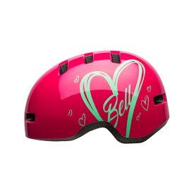 BELL(ベル) ヘルメット【LIL RIPPER(リルリッパー):UCサイズ(47-54cm)/ピンクアドアー】 ストライダー 自転車 子供用 キッズ