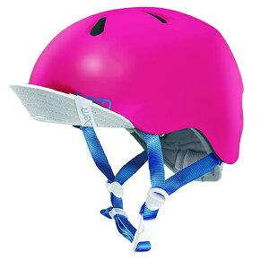 bern(バーン) ヘルメット【NINA(女の子) :Sサイズ/Mサイズ(51.5〜54.5cm) /サテン ホットピンク】 バイザー/ ストライダー 自転車 子供用 キッズ