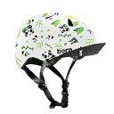 bern(バーン) ヘルメット【TIGRE(1〜2歳用) :XXSサイズ(47〜51cm) /サテンホワイト パンダロゴ】 ストライダー 自転…