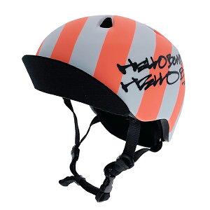 bern(バーン) ヘルメット【NINO(男の子) :Sサイズ/Mサイズ(51.5〜54.5cm) /ネオンレッド】 バイザー/ ストライダー 自転車 子供用 キッズ