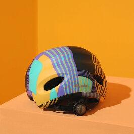 KPLUS(ケープラス)ヘルメット【PUZZLE(パズル):Sサイズ(52〜56cm)/Brave】ストライダー自転車子供用キッズジュニア