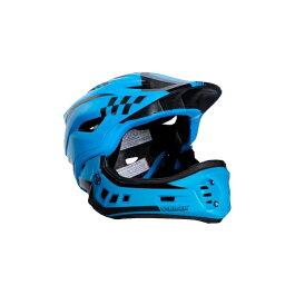 ストライダーオフィシャルフルフェイスヘルメット【Sサイズ(48〜52cm)/ブルー】ストライダー自転車子供用キッズレース