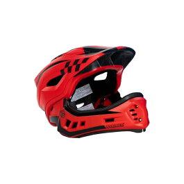 ストライダーオフィシャルフルフェイスヘルメット【Sサイズ(48〜52cm)/レッド】ストライダー自転車子供用キッズレース