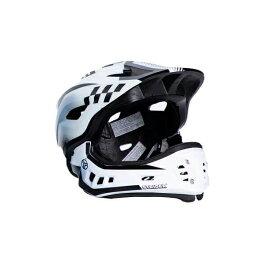ストライダーオフィシャルフルフェイスヘルメット【Mサイズ(52〜58cm)/ホワイト】ストライダー自転車子供用キッズレース