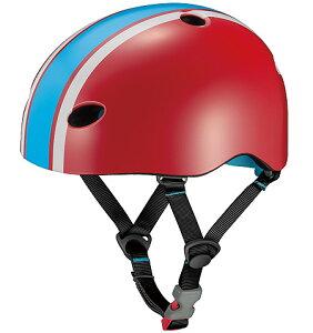 OGKカブト ヘルメット【チャイルドメットシリーズ FR-MINI(エフアールミニ):XXSサイズ(サイズ47〜51cm) /ラインレッド】 ストライダー 自転車 子供用 キッズ