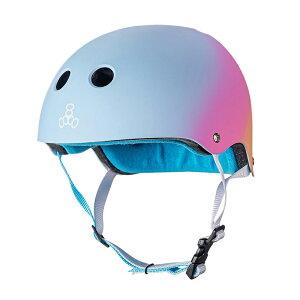 triple eight(トリプルエイト)ヘルメット【サーティファイド:L/XL(57cm〜60cm)/サンセット】 ストライダー 自転車 子供用 ヘルメット キッズ