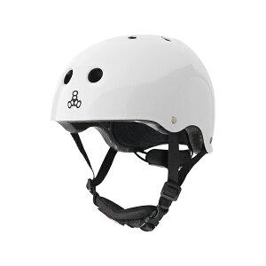 トリプルエイト【リルエイトユース:トドラー(46cm〜52cm)/ホワイトグロッシー】 ストライダー 自転車 子供用 ヘルメット キッズ