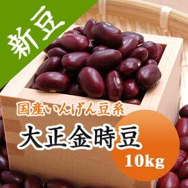 新豆!! 大正金時 金時豆 北海道産 10kg【令和2年産】開店10周年特価