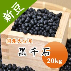 大豆 黒千石 極小粒黒大豆 北海道産 20kg 【令和2年産】