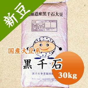 大豆 黒千石 極小粒黒大豆 北海道産 30kg 【令和2年産】