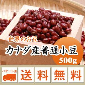 小豆 カナダ産普通小豆 500g【メール便 送料無料】
