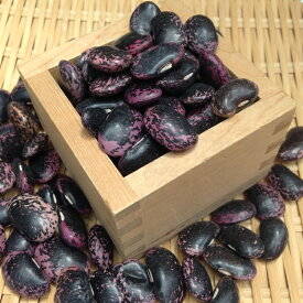 【ゆうパケット送料無料】【500g】北海道産紫花豆 令和2年産・新豆 煮豆レシピ付き!