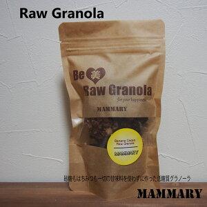 【低糖質グラノーラ】バナナカカオ味 スーパーフード 低GI 低糖質 砂糖不使用 ローフード ダイエット アレルギー対応 オーガニック