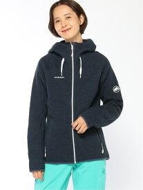 [Rakuten Fashion]MAMMUT/(W)Arctic ML Hooded Jacket Women MAMMUT マムート カットソー パーカー ネイビー【送料無料】