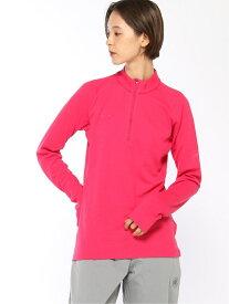 [Rakuten Fashion]MAMMUT/(W)PERFORMANCE Thermal Zip long Sleeve Women MAMMUT マムート カットソー ベアトップ ピンク ネイビー ブラック【送料無料】