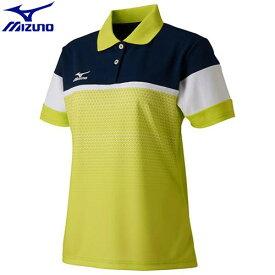 6bae3d1aff7f6 テニスウエア ゲームウエア ミズノ MIZUNO ドライサイエンスゲームシャツ(ラケットスポーツ)[レディース