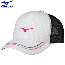 テニスウエア キャップ ミズノ MIZUNO キャップ ユニセックス (01)ホワイト 62JW800101