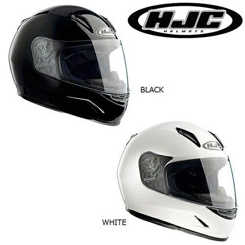 HJC/エイチジェイシー/HJH057/CL-Y ソリッド/CL-Y SOLID/フルフェイスヘルメット<レディース/キッズ/L(53-54)、M(51-52)/BLACK、WHITE/バイクヘルメット/helmet/ヘルメット/オートバイ用/bike/レディス/Ladies/女性用/kids/子供/こども/お子様用/