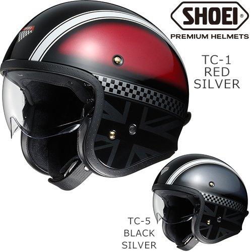 バイク ヘルメット SHOEI ショウエイ J・O HAWKER/ジェイ・オー ホーカー ジェットヘルメット