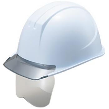 工事ヘルメット 谷沢製作所 タニザワ ST#161V-SHGR グレーシールド(161-EZV-SHGR) シールドヘルメット