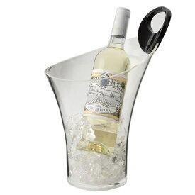 ワインクーラー アクリル ファンヴィーノ サチュルヌ ワインクーラー 1本用 6409