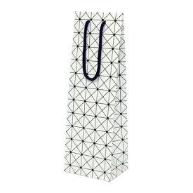 ワインギフトバッグ ファンヴィーノ ワインギフトバッグ大 白柄×50個セット 7152