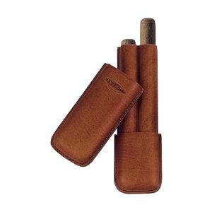 ジェマール ジョーファー CORONA 2本用 マロン 品番:JM103 2M 葉巻 シガーケース 喫煙具