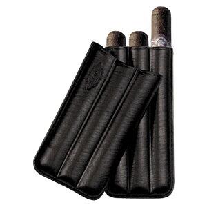 【ジェマール】ジョーファー PIRAMIDE 3本用 ブラック 品番:JM110 3B【葉巻 シガーケース 喫煙具】