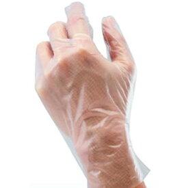 【使い捨て手袋】ポリエチレン手袋 100枚入×40セット[総数4000枚] 品番:1720-100 (S・M・Lサイズ) アトム ATOM 作業手袋 使いきり手袋 ディスポーザブル手袋 ディスポ手袋 左右兼用 粉なし 透明 ボックス 箱 精密作業 機械