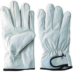 【革手袋】豚革クレスト マジック [10双入り] 品番:2024 アトム ATOM 作業手袋 皮手袋 豚革 手首マジック付