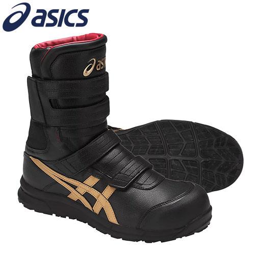 安全靴 ブーツ asics アシックス ウィンジョブCP401 FCP401 新商品予約受付中(9月上旬発売予定) マジック止め JSAA規格 プロテクティブスニーカー