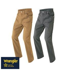 ラングラー Wrangler 作業着 作業服 スラックス ワークパンツ(ノータック)(男女兼用) AZ-64120 作業着 通年 秋冬 2018年 新作 新商品